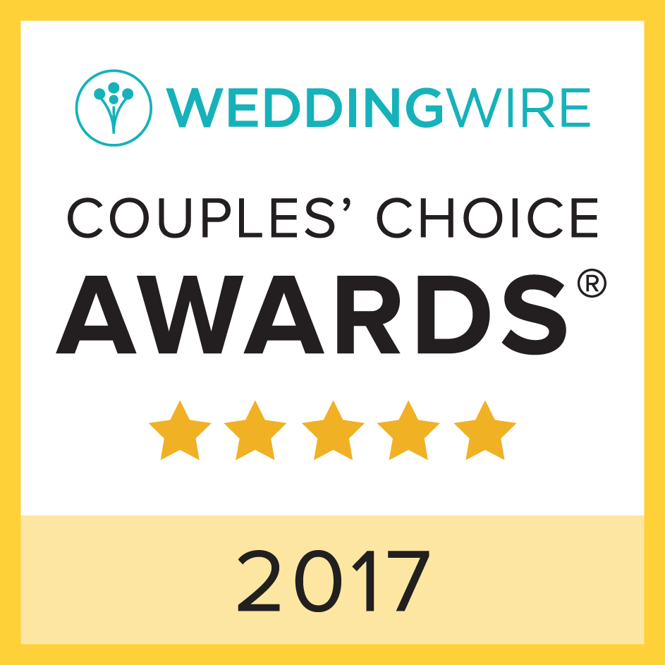 WeddingWire rated 2017